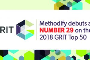 Methodify debuts at number 29 on the GRIT Top 50