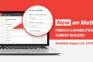 Methodify Adds New French Capabilities on Survey Builder