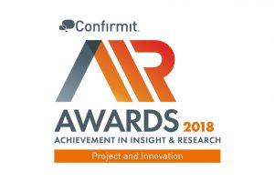 Methodify wins 2018 Achievement in Insight and Research Award