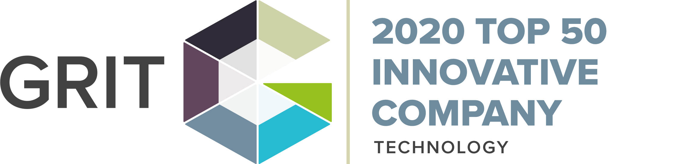 2020 GRIT Top 50 Innovative Company for Technology