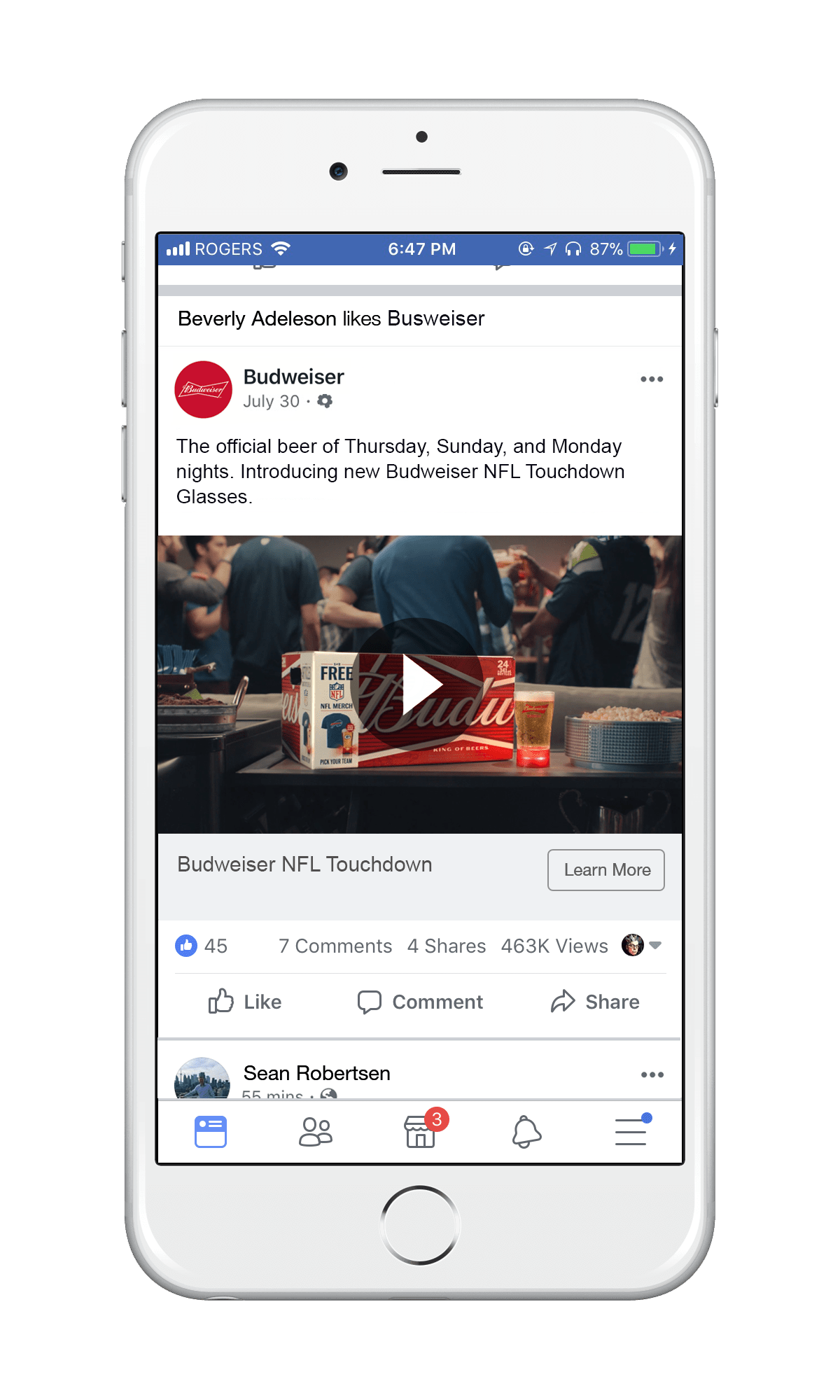 Facebook Ad Manager Case Study for AB InBev Labatt with Methodify