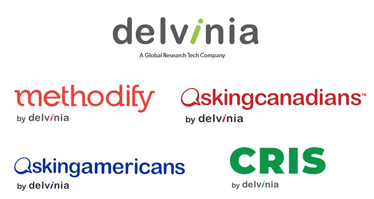 Delvinia - A Global Research Tech Company includes Methodify, AskingCanadians, AskingAmericans and CRIS