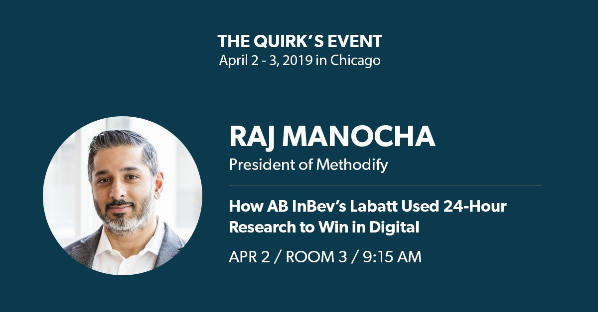 Speaking: The Quirk's Event - Chicago 2019