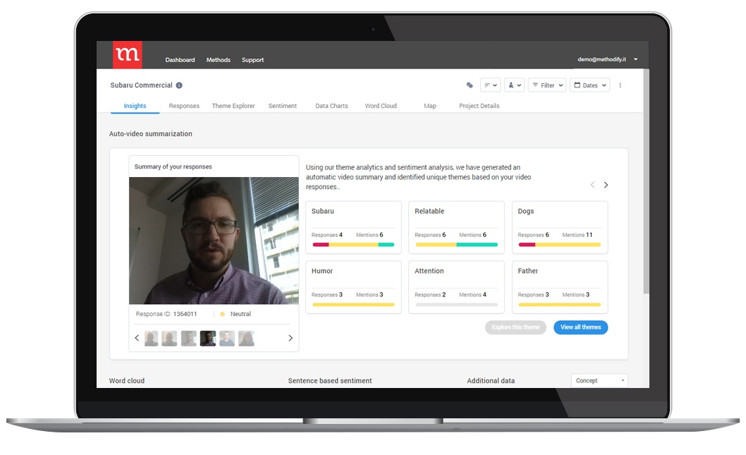 Voxpopme - Video Response and Analysis