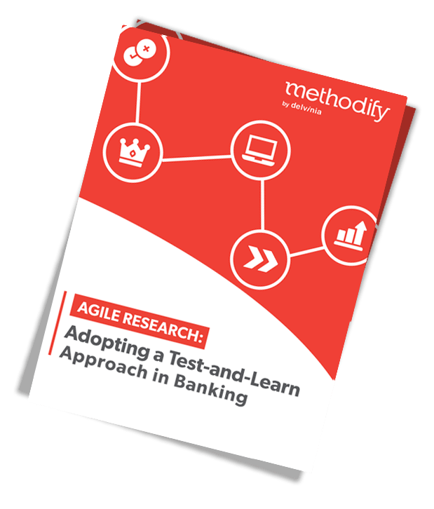 agile research in banking adopting test-learn approach